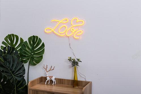 flexible neon on acrylic