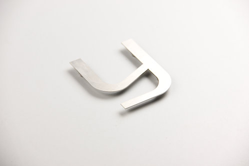 Stainless steel cutting letter,metal flat cut letter