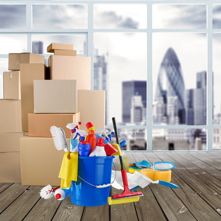 END OF TENANCY CLEANING:  ADVICE, TIPS AND CHECKLIST!