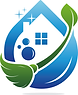 Blue house clean icon.png