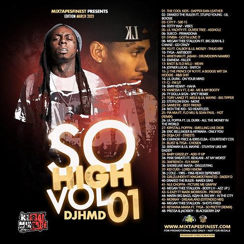 Dj HMD - So High Mixtapes VL01