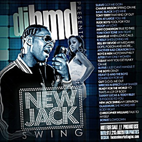 Dj HMD - New Jack Swing - Hosted By Morgeane  - Volume 05