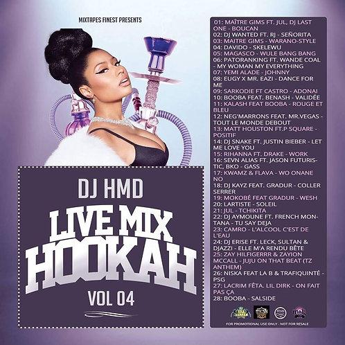 Dj HMD - Hookah Mixtapes Vl.4