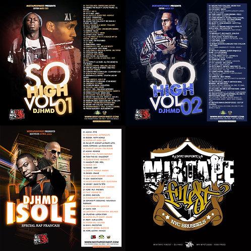 Dj HMD - Pack Avril 2021 (3 Mixtapes)