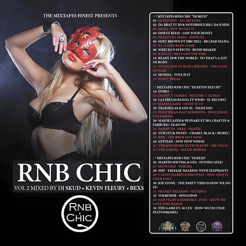 Dj HMD & Various Dj's Dj Skud, Kevin Fleury  - RnB Chic