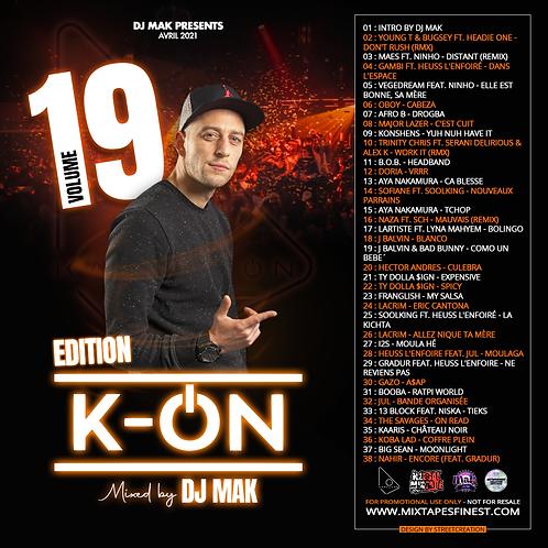 Dj Mak - Vol 19 (Edition K-On)
