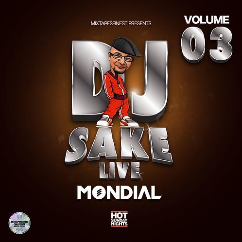 Dj Sake - Live Mondial Vol 03