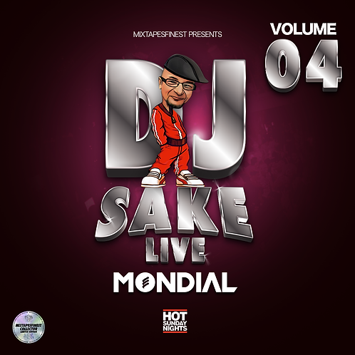 Dj Sake - Live Mondial Vol 04