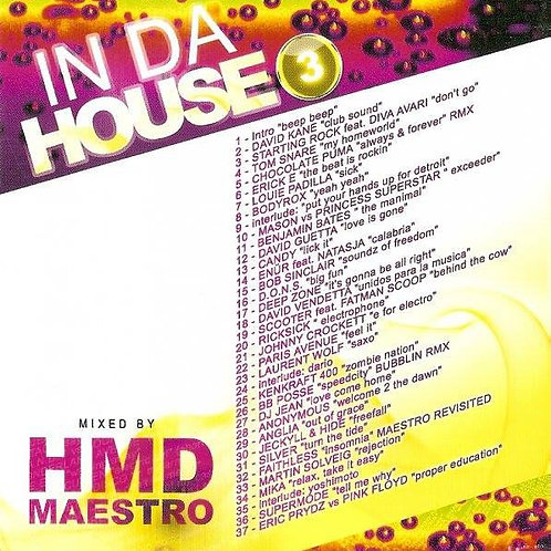 Dj HMD & Dj Maestro - In Da House - Volume 3