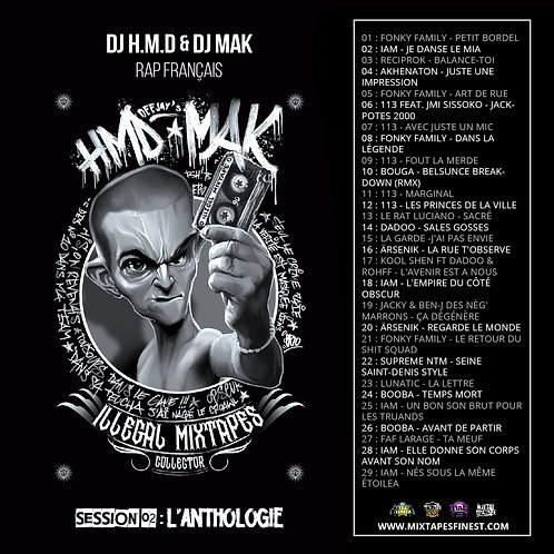 Dj HMD ft Dj Mak - Vol 02 - L'Anthologie
