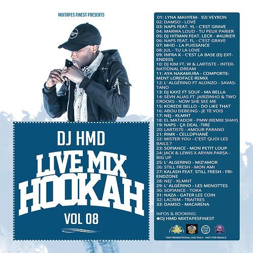 Dj HMD - Hookah Mixtapes Vl.8