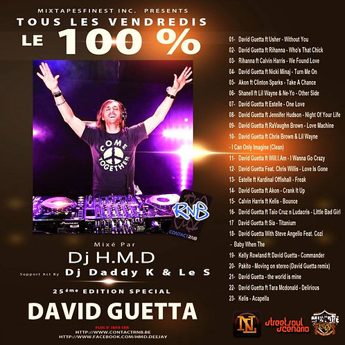 Dj HMD - Volume 25 - David Guetta