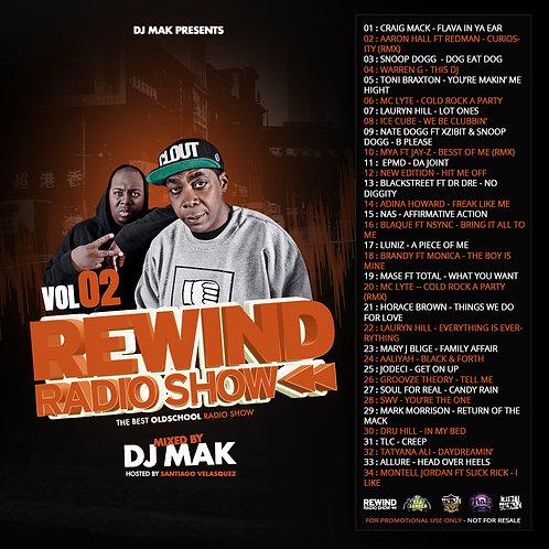 Dj Mak - Rewind Radio Show Vol 02