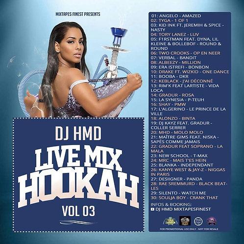 Dj HMD - Hookah Mixtapes Vl.3