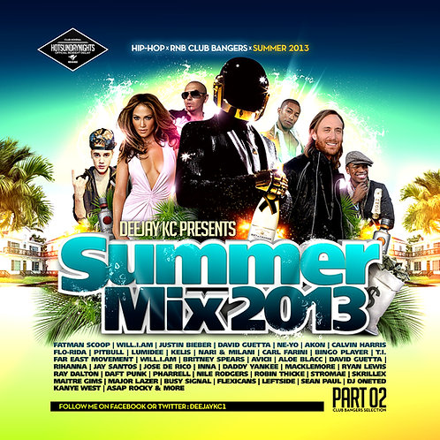 Dj KC - Summer Mix Pt2 - 2013