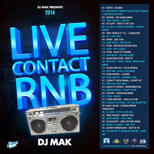 Dj Mak - Live Radio Contact (2014)