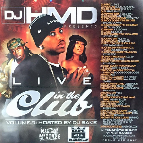 Dj HMD - Live Hosted By  Dj Sake Volume 9