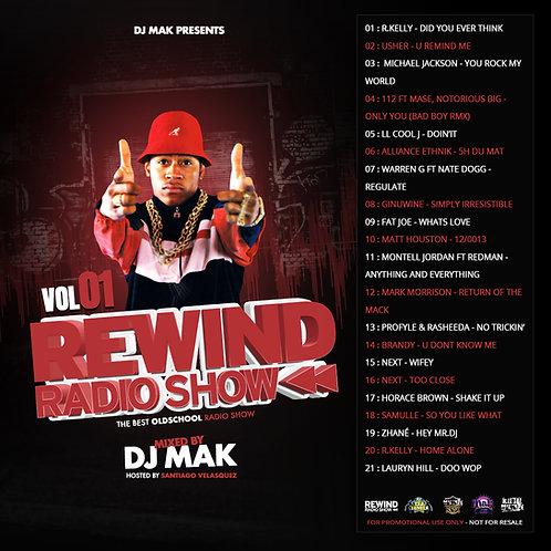 Dj Mak - Rewind Radio Show Vol 01