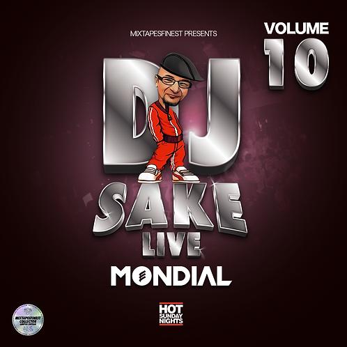 Dj Sake - Live Mondial Vol 10