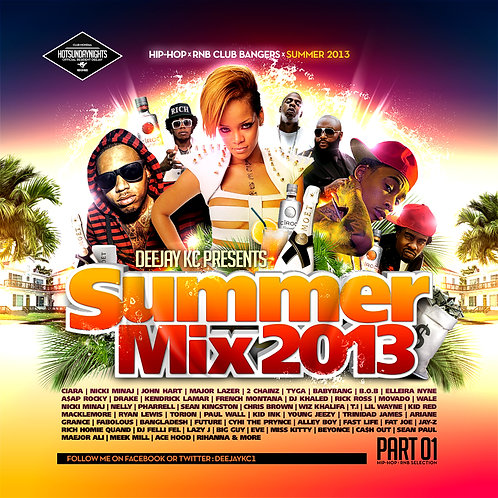 Dj KC - Summer Mix Pt1 - 2013