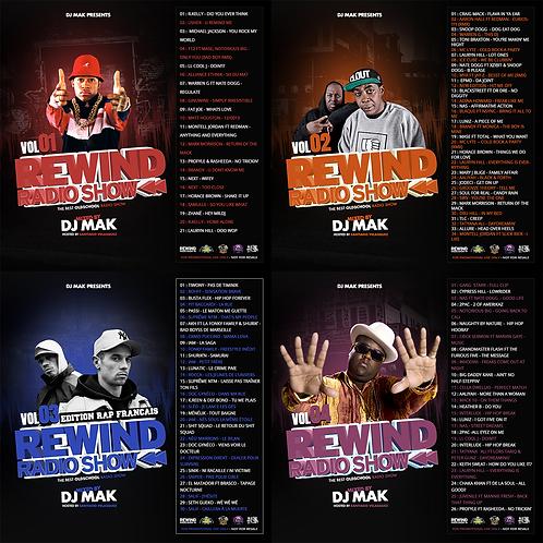 Dj Mak - Rewind Radio Show (4 Mixtapes)
