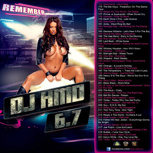 Dj HMD - Classic's Version  6.7 - Remember