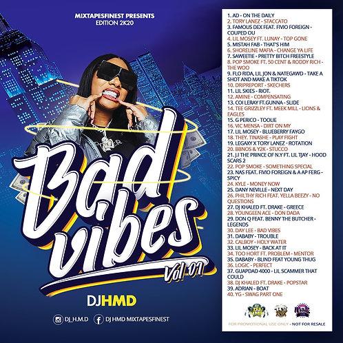 Dj HMD - Bad Vibes - Vol 01