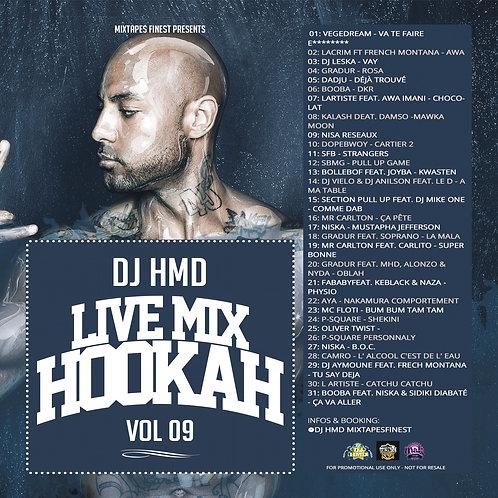 Dj HMD - Hookah Mixtapes Vl.9