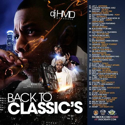 Dj HMD - Back To Classic's