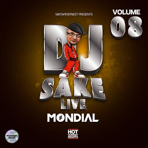 Dj Sake - Live Mondial Vol 08