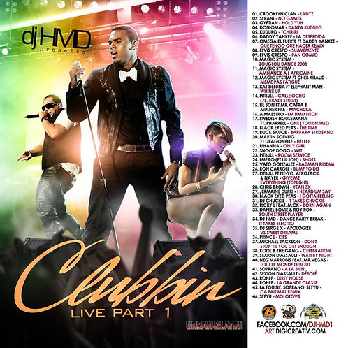 Dj HMD - Clubbin Live Part.1