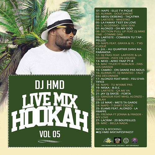 Dj HMD - Hookah Mixtapes Vl.5