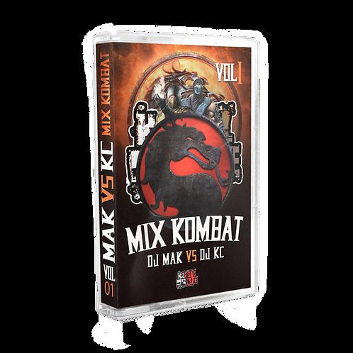 Dj Mak VS Dj KC - Mix kombat Vol 1