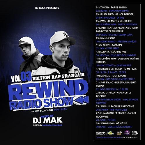 Dj Mak - Rewind Radio Show Vol 03