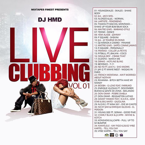 Dj HMD - Live & Clubbin Volume 1
