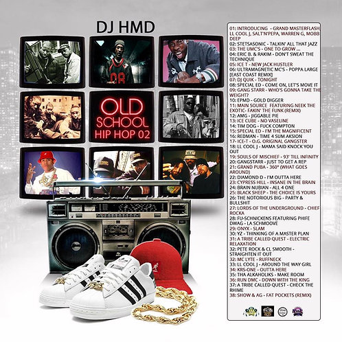 Dj HMD - Old School Rap  Classic's