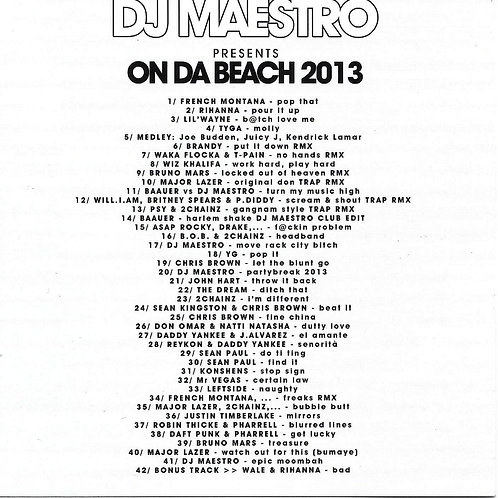 Dj Maestro - On Da Beach vol 6