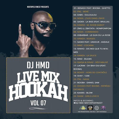 Dj HMD - Hookah Mixtapes Vl.7