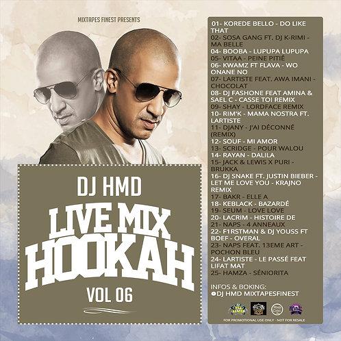 Dj HMD - Hookah Mixtapes Vl.6