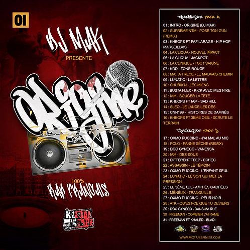 Dj Mak - Origine Vol 01