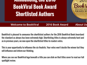 The Bulls of War Shortlisted for an Award!