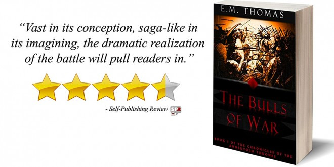 Thanks to Self Publishing Review for the king words on The Bulls of War!