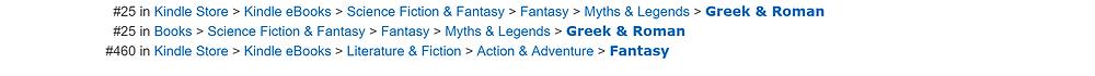 Epic fantasy The Bulls of War hits the Top 25!