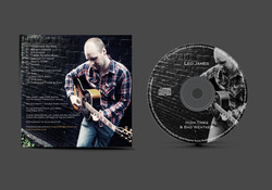 Leo James CD Back Cover