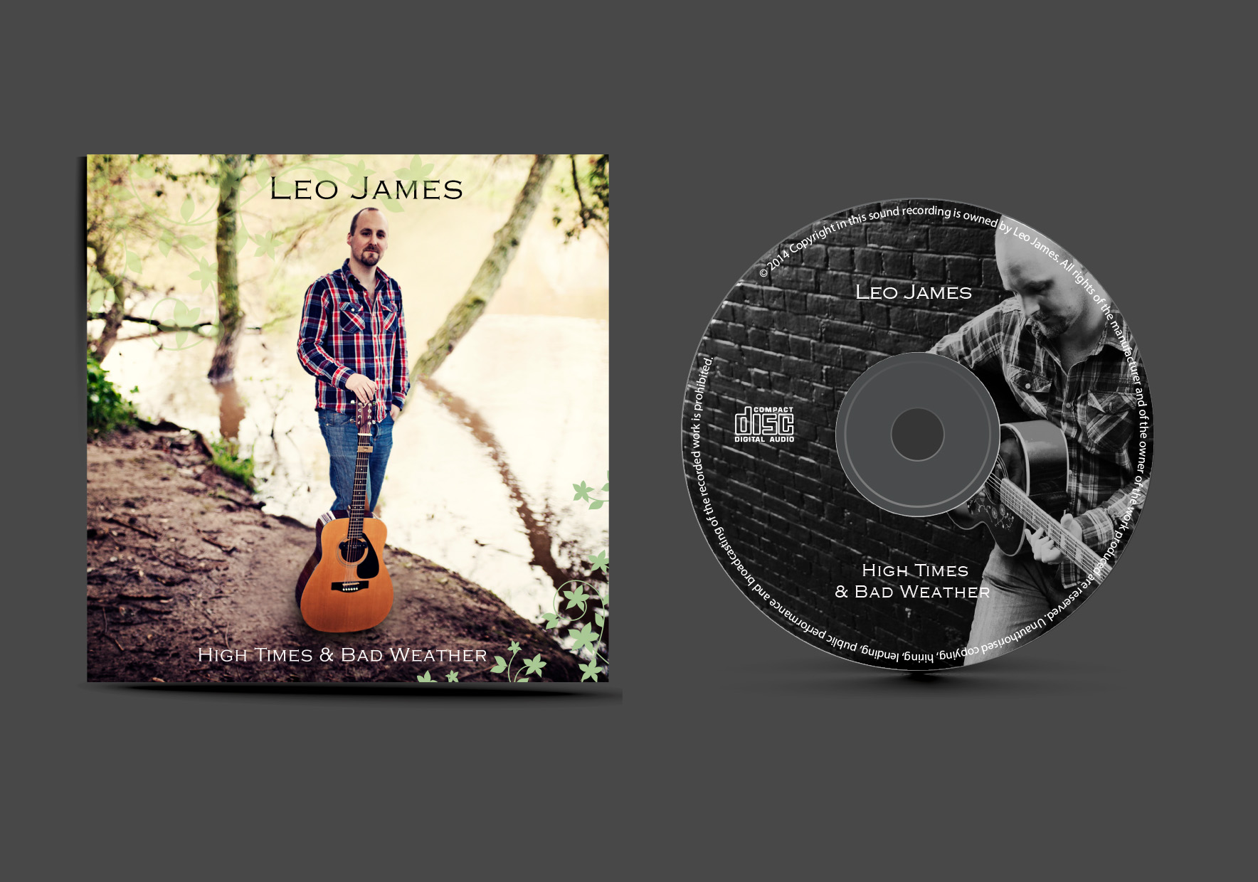 Leo James CD Front Cover