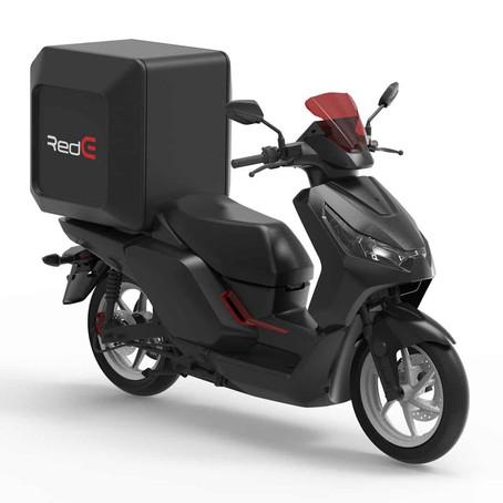 Scooter électrique Français RED-E