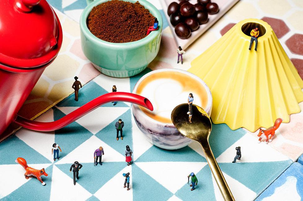 los amantes del café