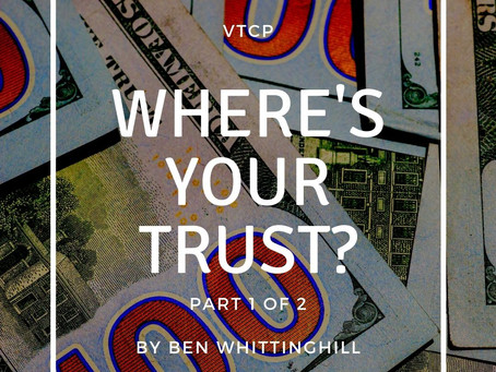 Church Planter, Where's Your Trust?