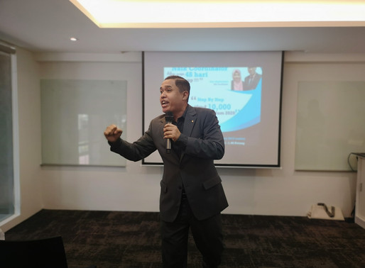 Success Hunter 3.0 di Shaklee Branch KL Yang Baru
