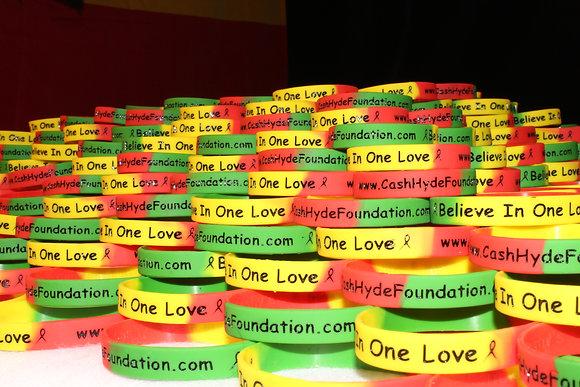 Reggae Colored Bracelets
